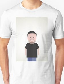 Ricky Gervais. Unisex T-Shirt