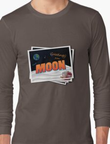 Greetings From The Moon Long Sleeve T-Shirt