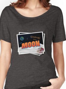 Greetings From The Moon Women's Relaxed Fit T-Shirt