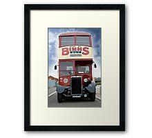 Vintage Bus Framed Print