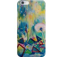 Dandelions Abstract Patterns iPhone Case/Skin
