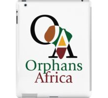 Support Orphans Africa! iPad Case/Skin