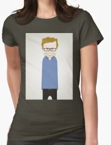 Steve Merchant. Womens Fitted T-Shirt