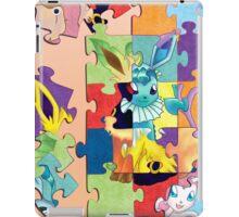 Eeveelution Puzzle iPad Case/Skin