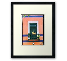 The Window to Happiness Framed Print