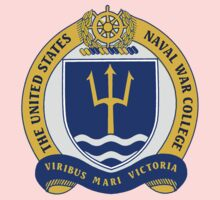 Naval War College Crest Kids Clothes