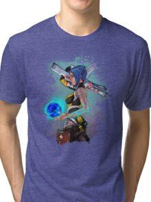 Borderlands 2 Maya the Siren Splatter Tee Tri-blend T-Shirt