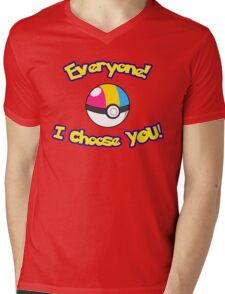 Parody: I Choose Everyone! (Pansexual) Mens V-Neck T-Shirt