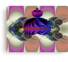 Mandelbrot Cuttlefish  (UF0048) Canvas Print