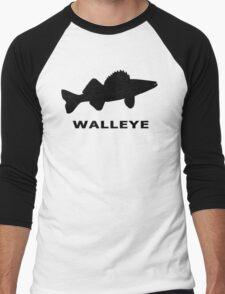 Simply Walleye Men's Baseball ¾ T-Shirt