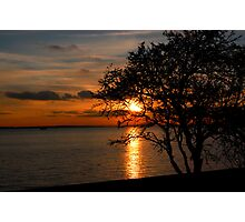 Southend Sunset Photographic Print
