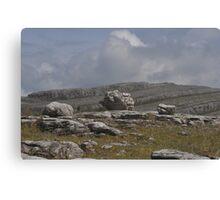 Limestone Marbles Canvas Print