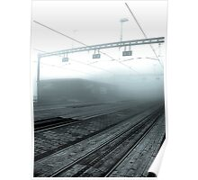 One misty morning Poster