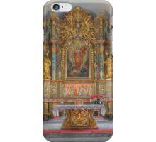 Parish church St. Margaretha in Wenigzell, Styria iPhone Case/Skin