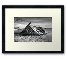 Tyrannosaurus Wrecks Framed Print