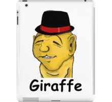 Giraffe Man iPad Case/Skin