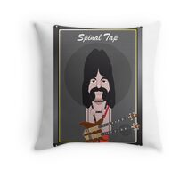 This Is Spinal Tap. Derek Smalls. Throw Pillow