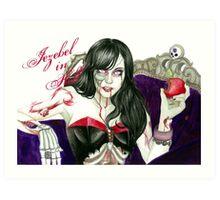Jezebel in Hell Art Print