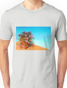 Swimming pool with flower at Nairobi Safari Park, KENYA Unisex T-Shirt