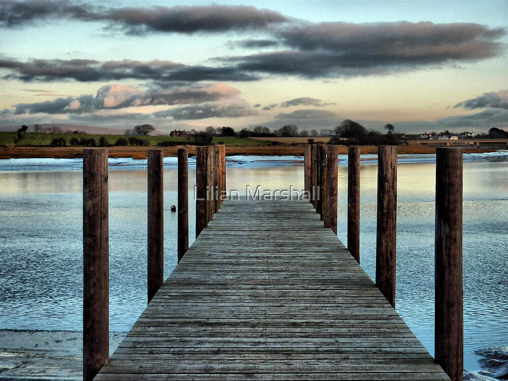 Up on the Boardwalk  by Lilian Marshall