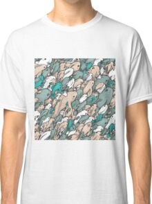 Fishes - blue Classic T-Shirt