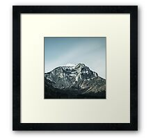 Mountains Beauty Framed Print