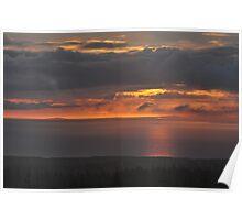 Sunset on Ireland's Atlantic coast - I Poster
