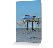 Fishing in France Greeting Card