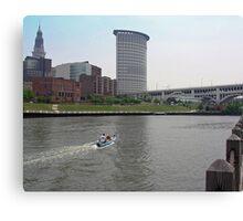 Cleveland, Ohio through the lens  #5 Canvas Print