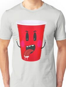 Cups Playing Beer Pong Unisex T-Shirt