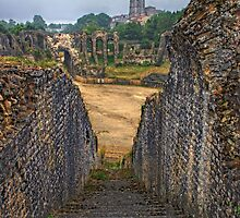 Old amphitheatre in Saintes by 7horses