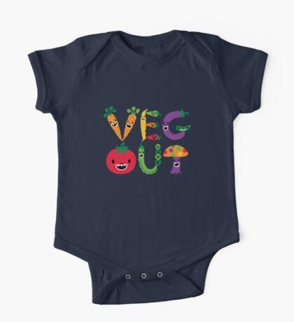 Veg Out - navy Kids Clothes