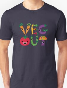 Veg Out - navy Unisex T-Shirt