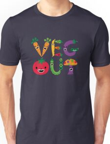 Veg Out - navy T-Shirt