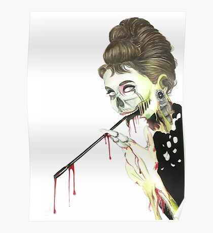 Zombies at Tiffany's Poster