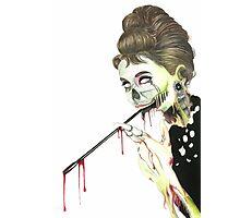 Zombies at Tiffany's Photographic Print