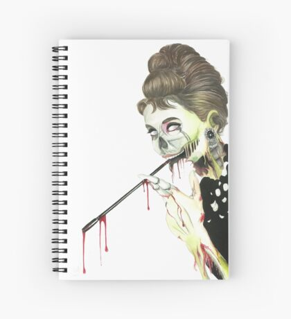 Zombies at Tiffany's Spiral Notebook