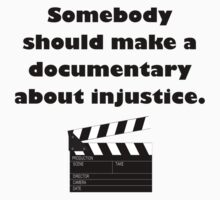 Documentary Injustice Kids Clothes