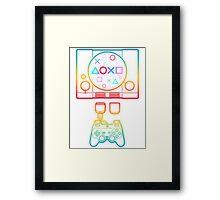 PlayStation Tribute Framed Print