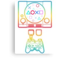 PlayStation Tribute Canvas Print