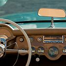 1954 Chevrolet Corvette Dash Board by Jill Reger