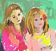 RETRATO, sobrinas. by María Angélica  Ortuzar Cariola