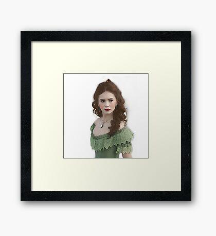 Katherine Petrova/Nina Dobrev Framed Print