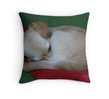 Playing Hide 'n' Sleep :) Throw Pillow