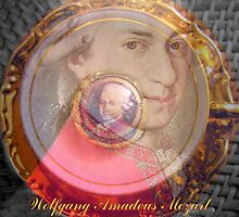 Wolfgang Amadeus Mozart by ©The Creative  Minds