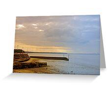 Sunny Interlude on Ryde Esplanade Greeting Card