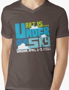 Art Is 2011 festival tshirt Mens V-Neck T-Shirt