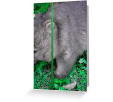 split screen Greeting Card