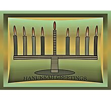 Hanukkah Photographic Print