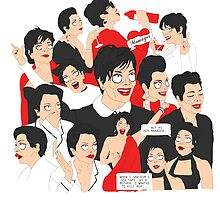 Kris Jenner Wine Tote by BYLRP